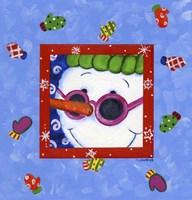 Snowman Glasses Fine-Art Print