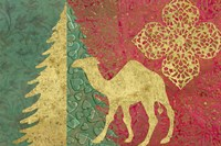Xmas Tree and Camel Fine-Art Print