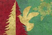 Xmas Tree and Dove Fine-Art Print