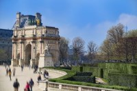 Arc de Triomphe du Carroussel and the Tuileries Garden Fine-Art Print