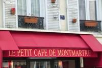 Cafe on Montmartre Fine-Art Print