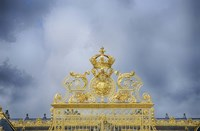 Golden Gate Of The Palace Of Versailles I Fine-Art Print