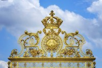 Golden Gate Of The Palace Of Versailles II Fine-Art Print
