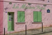 La Maison Rose Fine-Art Print
