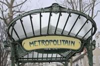Metropolitain Abbesses Fine-Art Print