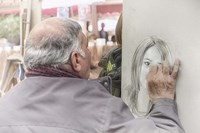 Monmartre Artist Working On Place du Tertre V Fine-Art Print