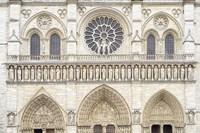 Notre Dame Facade Details I Fine-Art Print