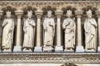 Notre Dame Facade Details III Fine-Art Print