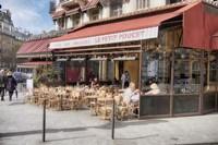 Paris Terrace Fine-Art Print