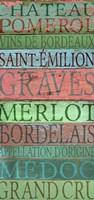 Bordeaux Wines Fine-Art Print