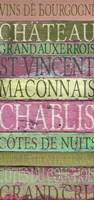 Burgundy Wines Red Fine-Art Print