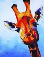 Curious Giraffe Fine-Art Print
