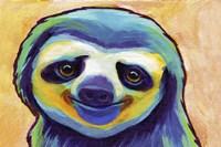 Happy Sloth Fine-Art Print
