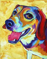 Beagle Dog Lucy Lu Fine-Art Print