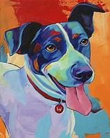 Willie Terrier Dog Fine-Art Print