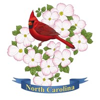 State Bird And Flower NC Fine-Art Print