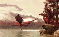 Autumn Dragons Fine-Art Print