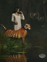 Dreams Of Tigers And Bubbles Fine-Art Print