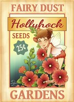 Hollyhock Seeds Fine-Art Print
