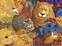 Leonine Tapestry Fine-Art Print