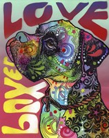 Boxer Love Fine-Art Print