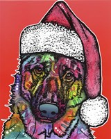 Christmas Dog Fine-Art Print