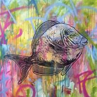 Fishy Spray Fine-Art Print