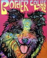 Border Collie Love Fine-Art Print