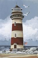 lighthouse B Fine-Art Print