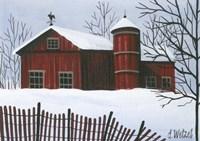 Red Barn Fine-Art Print