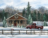 Country Christmas Fine-Art Print