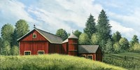 Red Barn Summer 2 Fine-Art Print