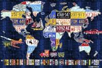 World Map 2016 Augustine Fine-Art Print