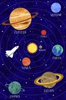 Solar System Fine-Art Print
