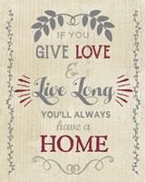 Give Love Fine-Art Print