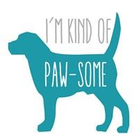 Pawsome Dog Fine-Art Print