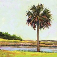 Marsh Palm Fine-Art Print