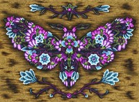 Blooming Animals - Butterfly 2 Fine-Art Print