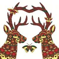 Deer Lovers Fine-Art Print