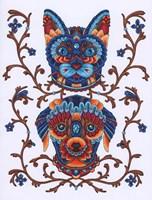 Animals Lovers - Cat & Dog Fine-Art Print