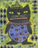 Black Cat Queen Fine-Art Print