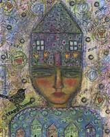House Head Lady Fine-Art Print