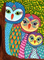 Night Owls 20 Fine-Art Print