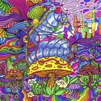 Pop Art Caterpillar Fine-Art Print