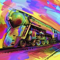 Pop Art - Train Fine-Art Print