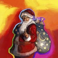 Pop Art Santa Fine-Art Print