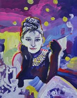 Audrey Hepburn Tiffanys Fine-Art Print