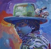 Bob Dylan 70S Fine-Art Print