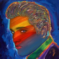 Elvis Rainbow Fine-Art Print