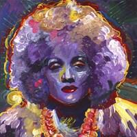 Marlene Deitrich Vodoo Fine-Art Print
